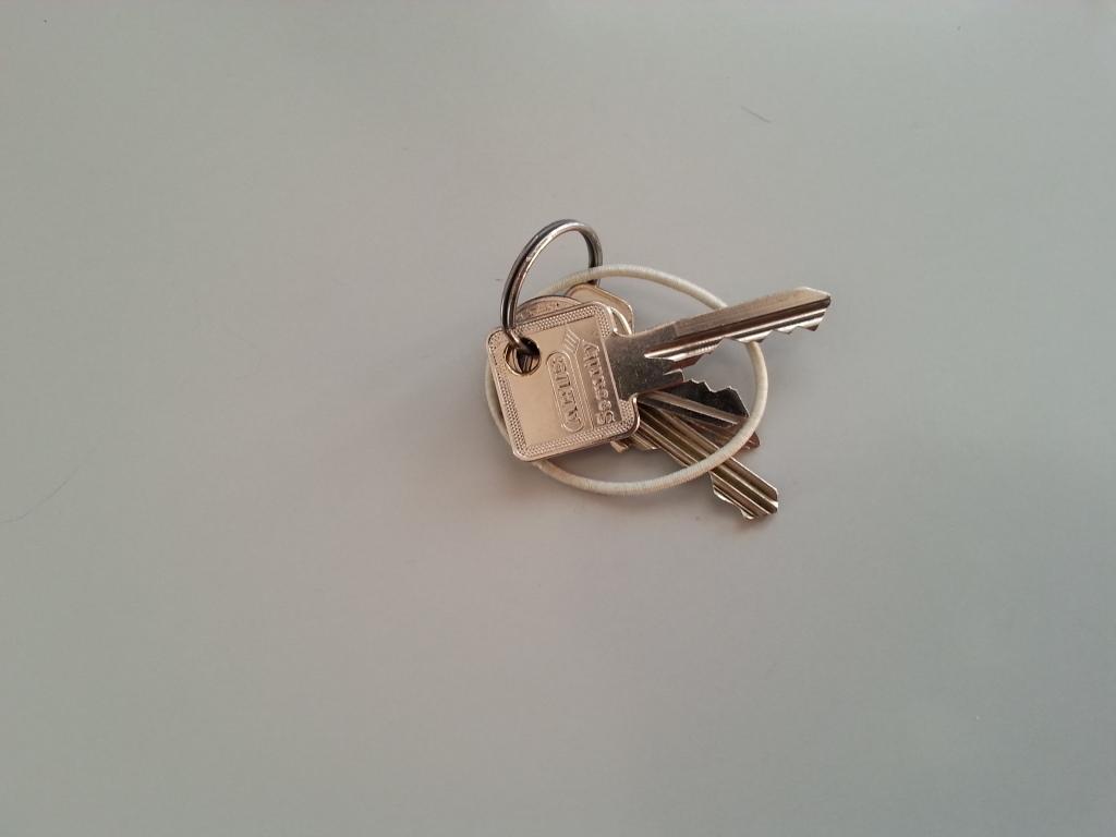 Schlüssel vergessen? Unnötige Bewegung.