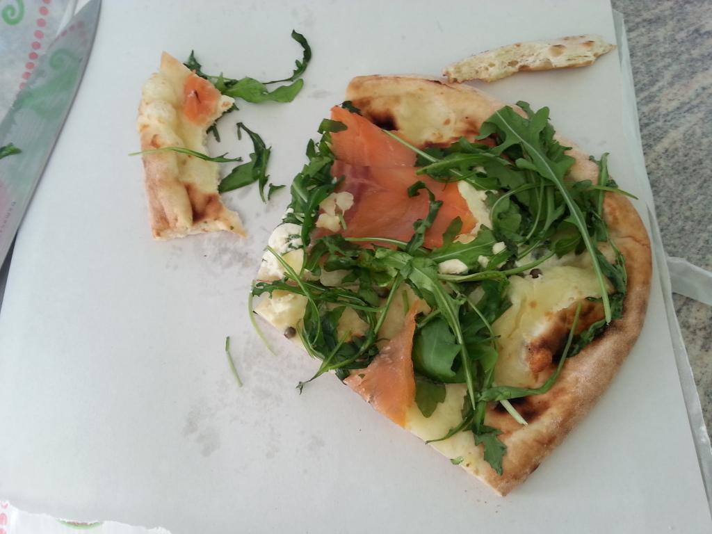 Überproduktion von kalter Pizza