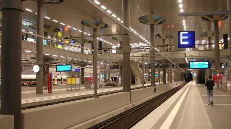 Metro Deutschland Bahnsteig