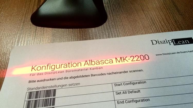 Albasca Scanner Konfiguration