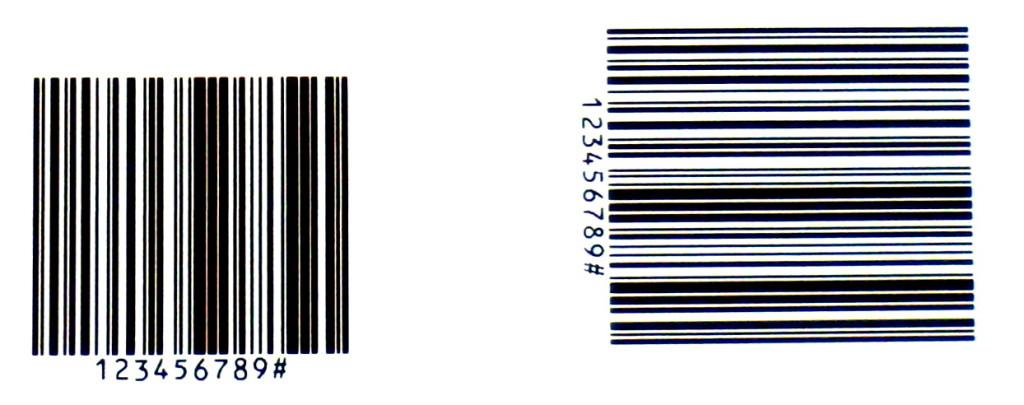 Barcode Druck hohe Aufloesung