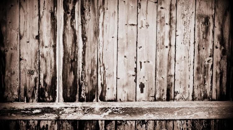 Gartenzaun aus Holz